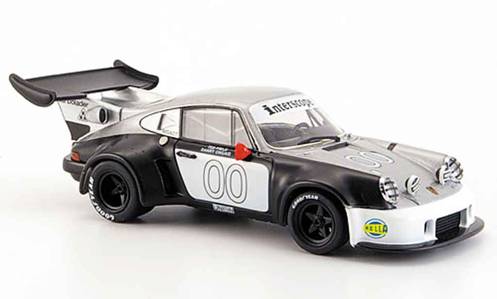 Porsche 930 Turbo 1/43 Ebbro RSR No.00 Pield Ongais Daytona 1977 miniature