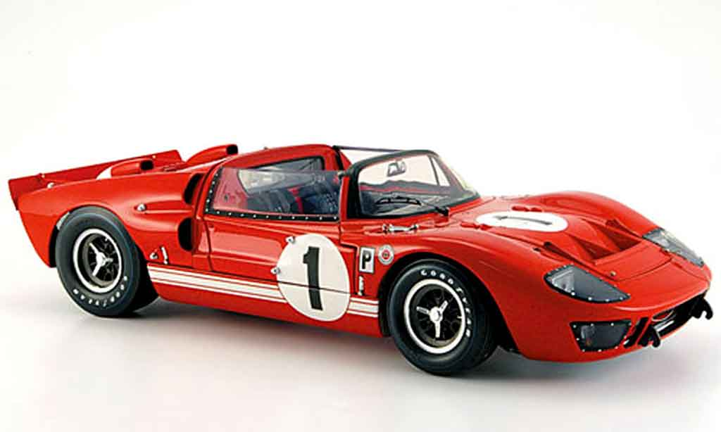 Ford GT 40 1/18 Exoto mk ii sieger sebring 1966 miniature