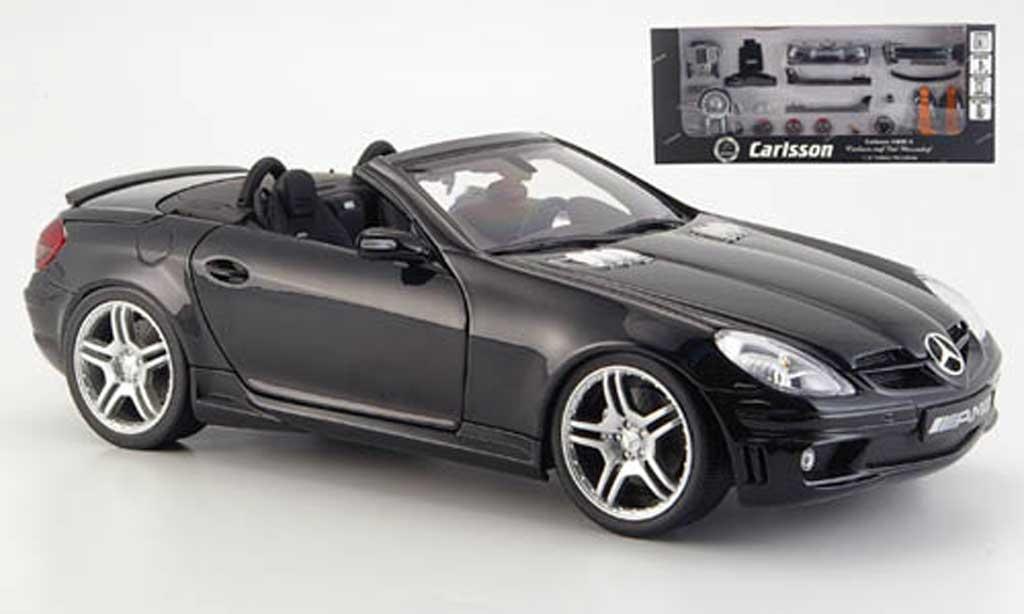 Mercedes Classe SLK 1/18 AutoProShop 55 amg verwandelbar in carlsson cm 55 k miniature