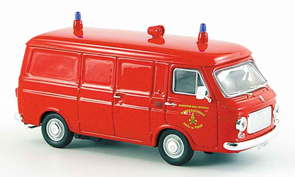 Fiat 238 1/43 Rio Kasten Vigili del fuoco pompier Italien 1976 diecast