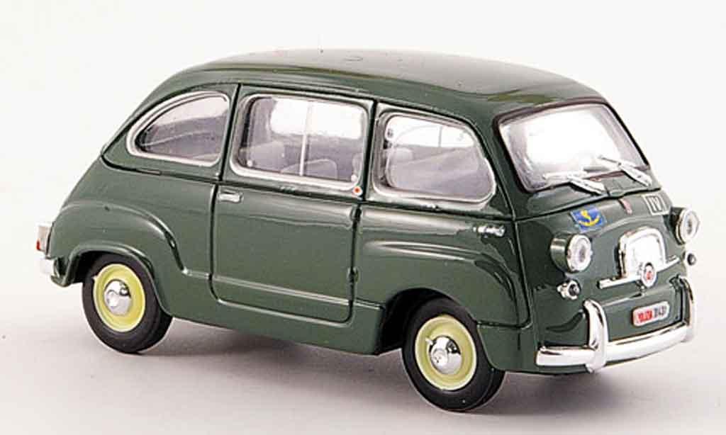 Fiat 600 1/43 Brumm D Multipla Polizia Stradale police 1960 miniature