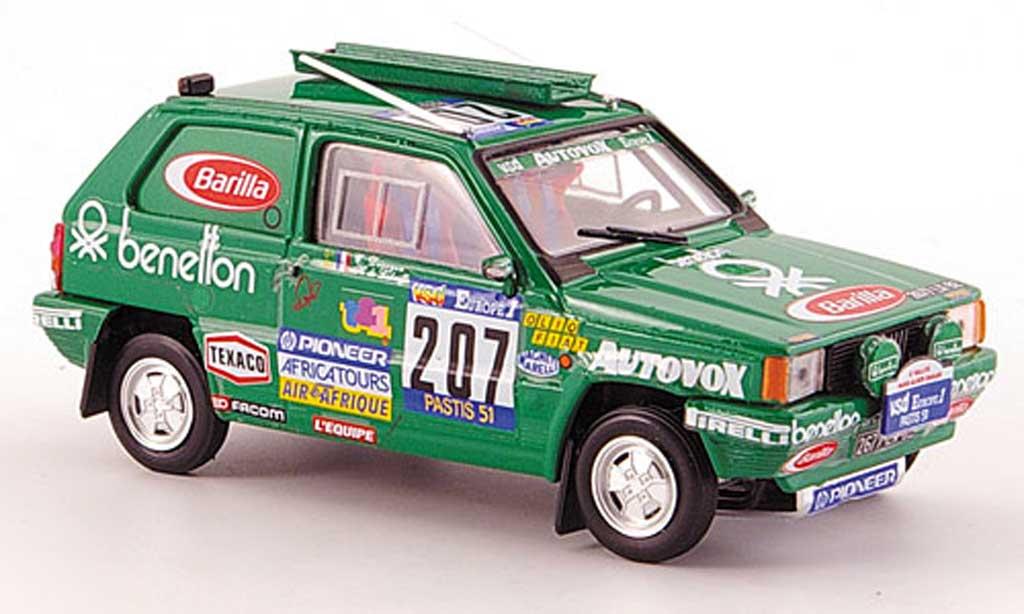 Fiat Panda 1/43 Brumm 4X4 No.207 Rally Paris-Dakar 1984 De Labriffe/Devoyon