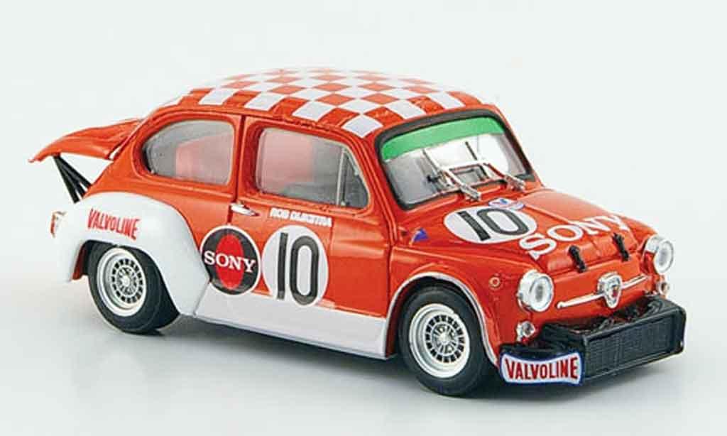 Fiat Abarth 1000 1/43 Brumm TCR Gr.2 No.10 Sony Zandvoort 1971 miniature