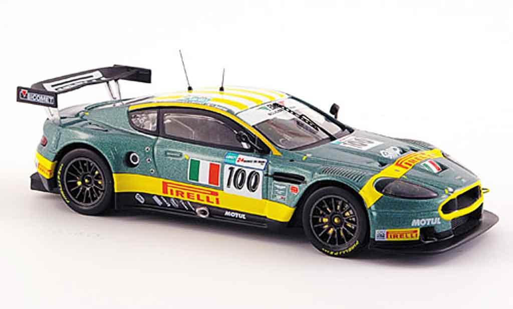 Aston Martin DBR9 1/43 IXO no.100 bms le mans 2007 miniature