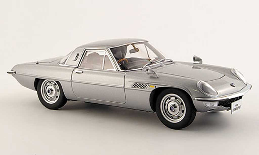 Mazda Cosmo 1/18 Autoart sport grise miniature