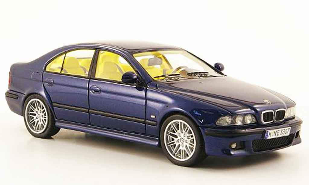 Bmw M5 E39 1/43 Neo bleu 2002 diecast model cars