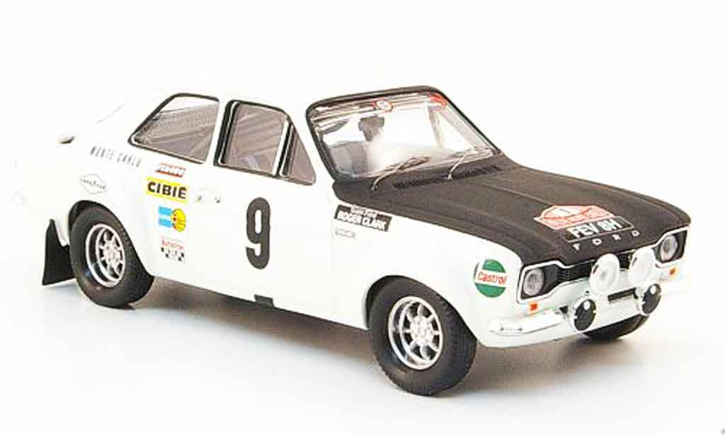 Ford Escort RS 1600 1/43 Trofeu No.9 Rally Monte Carlo 1970 miniature