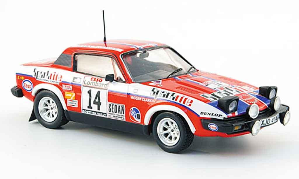 Triumph TR7 1980 1/43 Trofeu No.14 Sparkrite Rally Schottland miniature