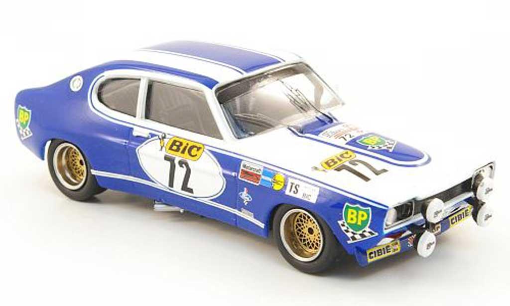 Ford Capri 2600 1/43 Trofeu MKI  No.72 Piot/Porter Tour Auto 1971 miniatura