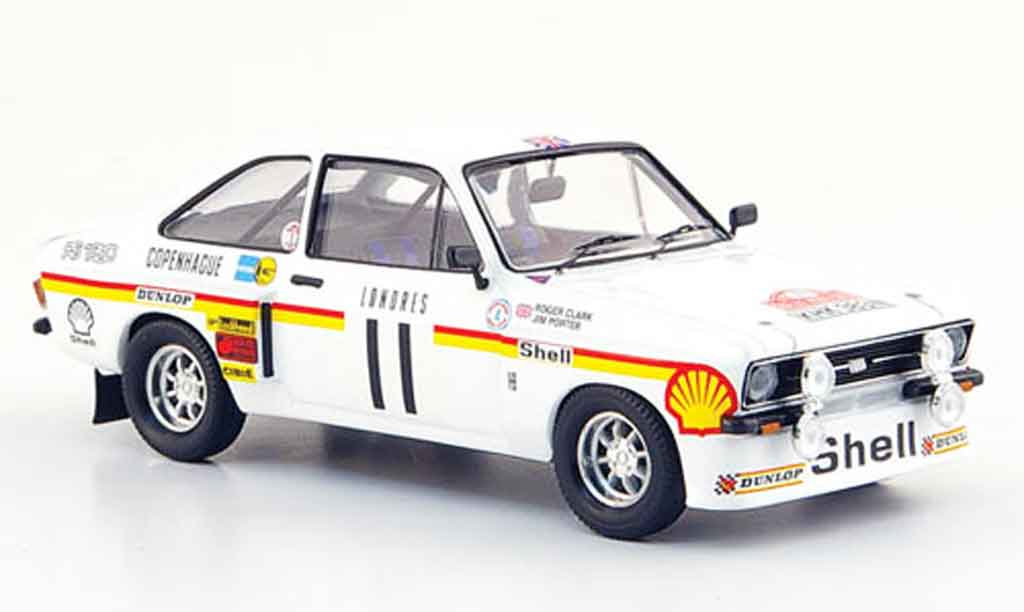 Ford Escort RS 1800 1/43 Trofeu No.11 Rally Monte Carlo 1976 miniature