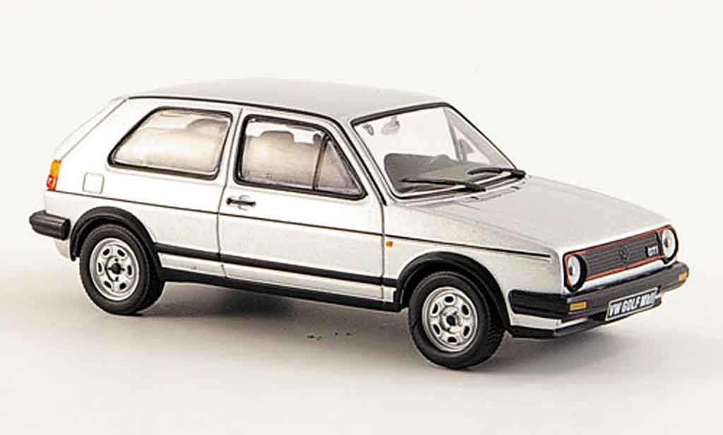 Volkswagen Golf 2 GTI 1/43 WhiteBox grise metallisee miniature