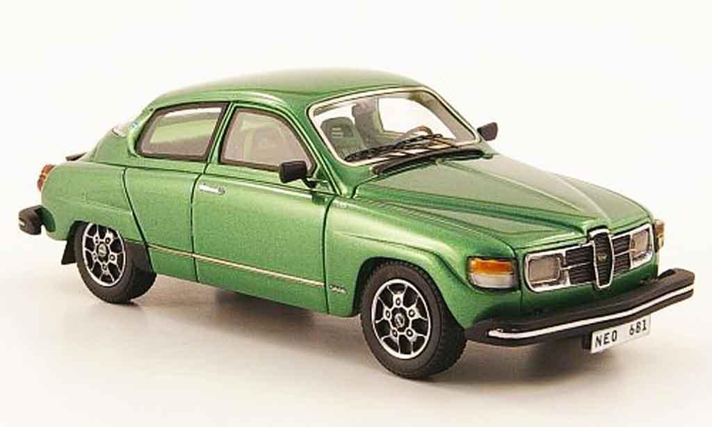 Saab 96 GL 1/43 Neo green 1979 diecast