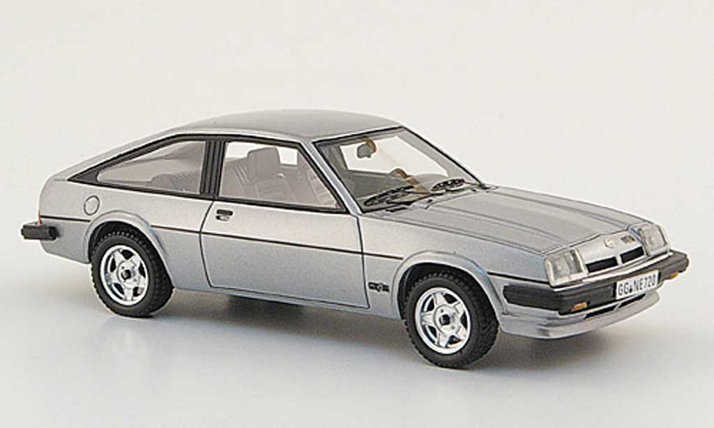Opel Manta B 1/43 Neo CC GT/E grey 1980 diecast model cars