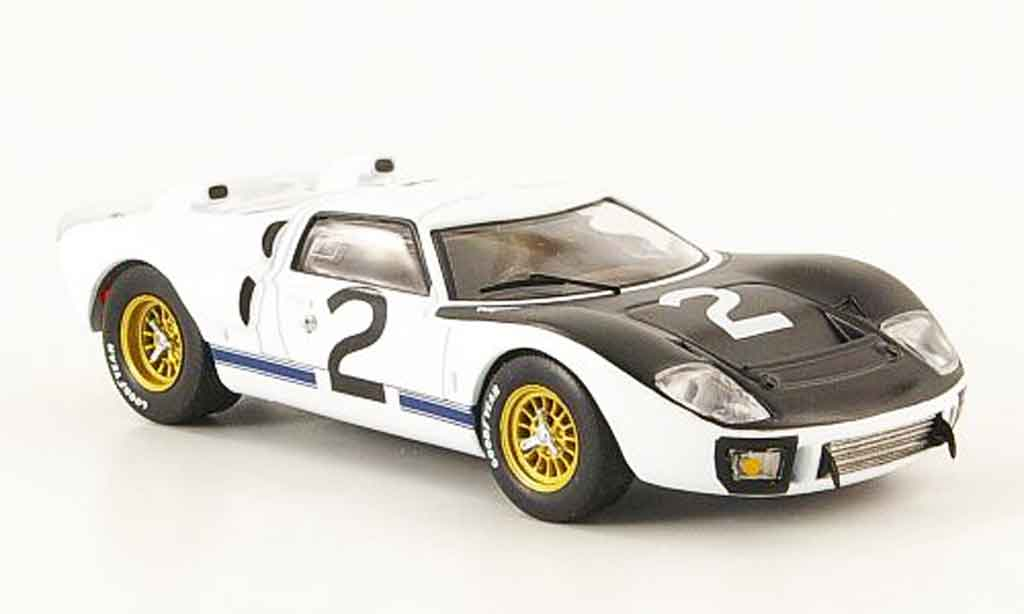 Ford GT40 1/43 IXO GT 40 MK II No.2 Le Mans Test 1966 miniature