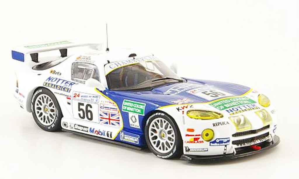 Dodge Viper GTS R 1/43 IXO No.56 Team Chamberlain 24h Le Mans 1999 diecast
