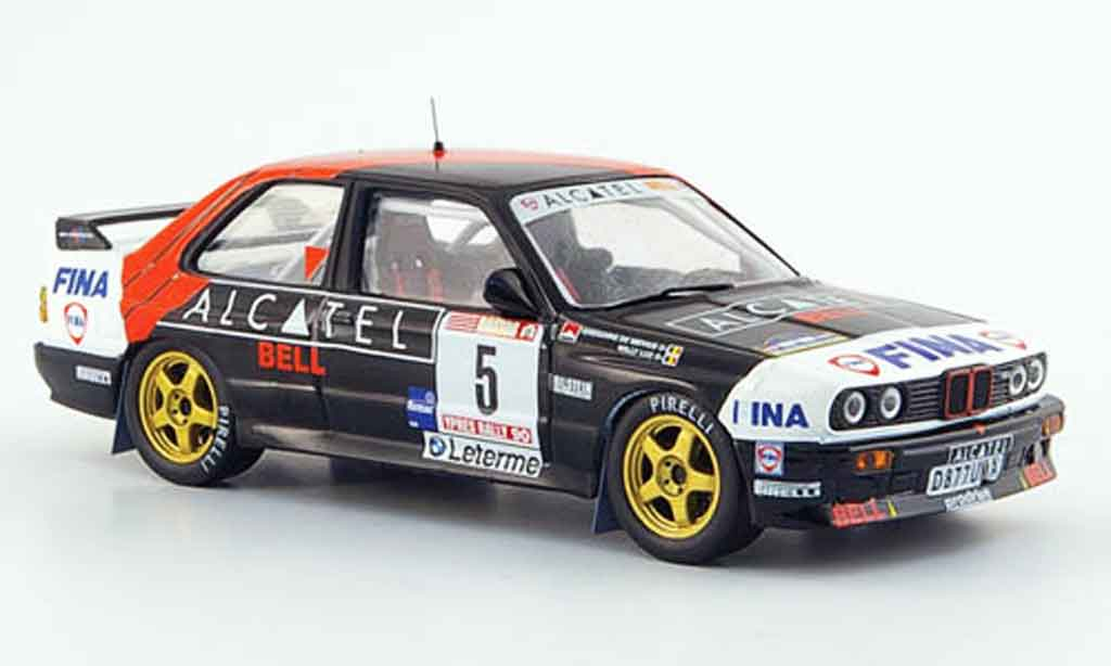Bmw M3 E30 1/43 IXO Rallye Gr.A No.5 Alcatel Rally Ypern 1990 diecast model cars