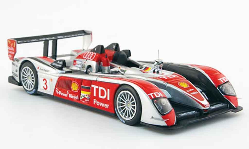 Audi R10 2008 1/43 IXO TDI No.3 S 24h Le Mans miniature