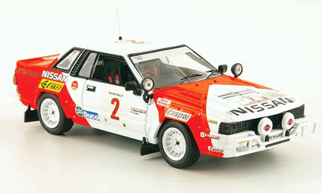 Nissan 240 RS 1/43 IXO No.2 Mehta Combes Safari Rally 1984 miniature