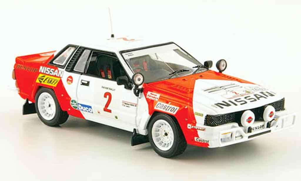 Nissan 240 RS 1/43 IXO No.2 Mehta Combes Safari Rally 1984