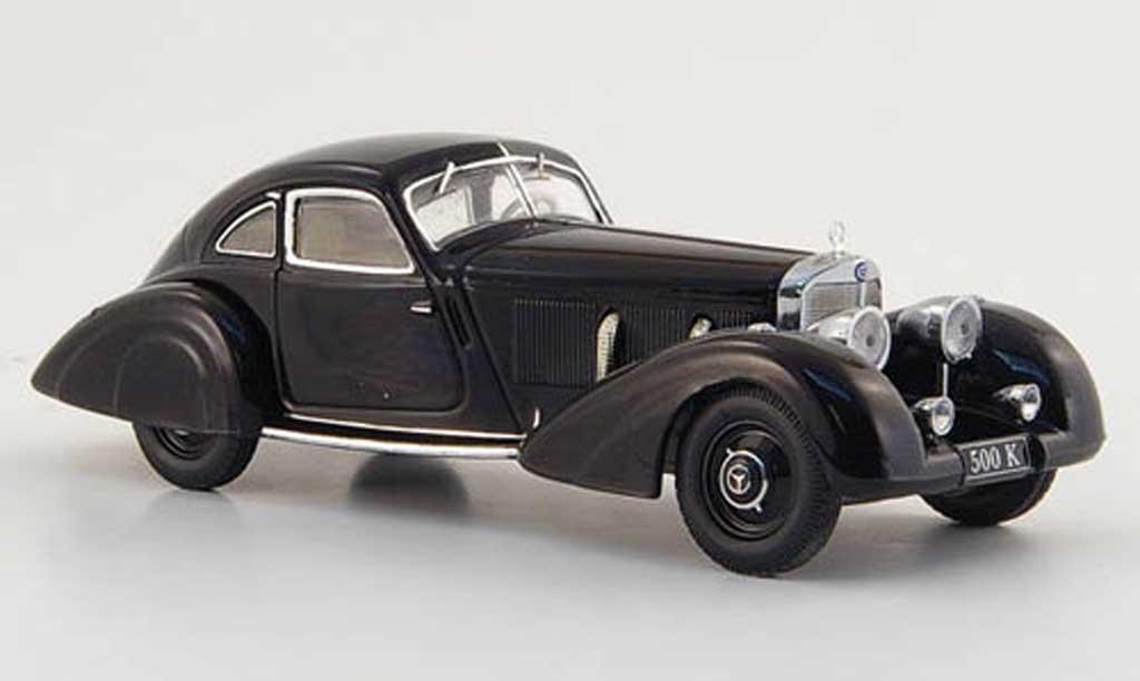 Mercedes 500 K 1/43 IXO Autobahn-urier noire 1935 miniature