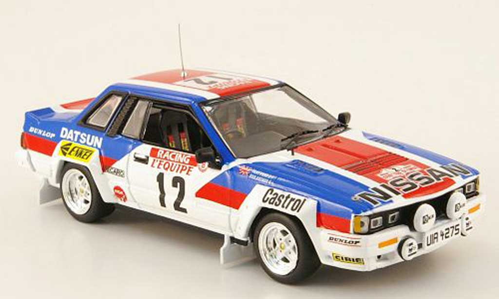 Nissan 240 RS 1/43 IXO No.12 Pond/Arthur Tour de Corse 1983 miniature