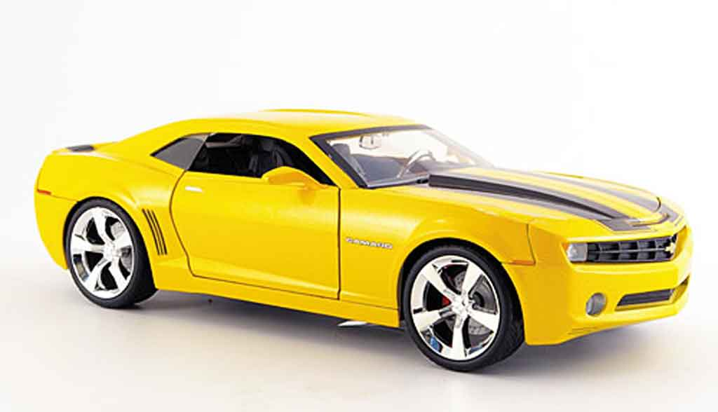 Chevrolet Camaro Concept 1/18 Jada Toys Toys Concept giallo/nero 2006 modellino in miniatura