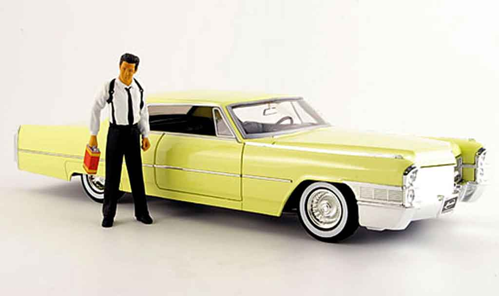 Cadillac Deville 1/18 Jada Toys Toys coupe reservoir dogs mit figur 1965 miniature