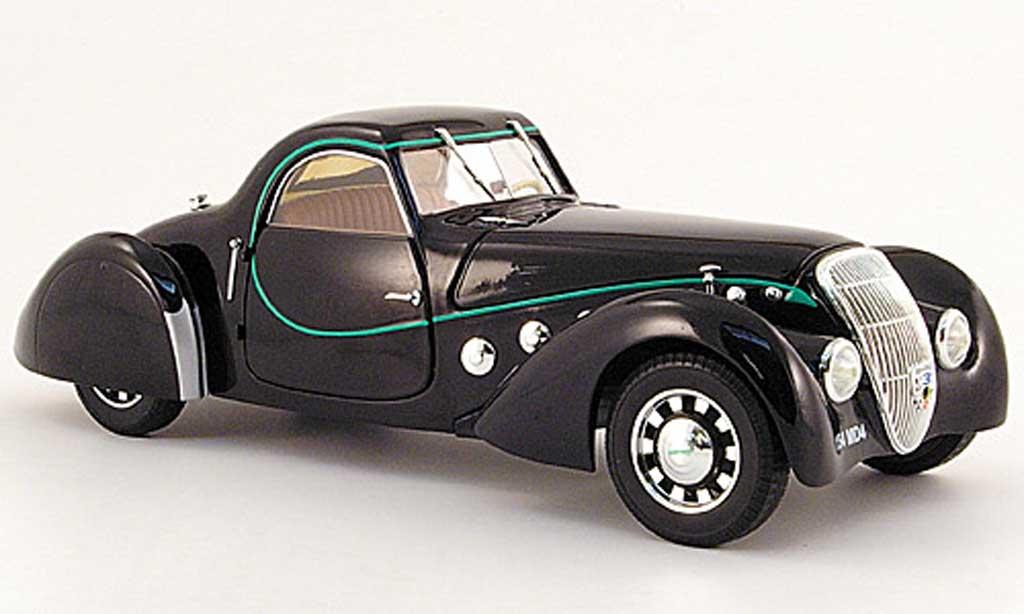 Peugeot 302 coupe 1/18 Norev Darl'Mat noire 1937 miniature
