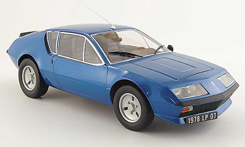 Alpine A310 V6 1/18 Maisto bleue 1978