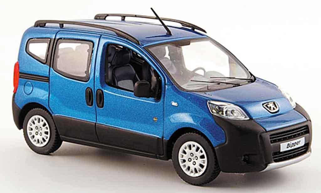 Peugeot Bipper 1/43 Norev tepee outdoor bleu 2009 miniature