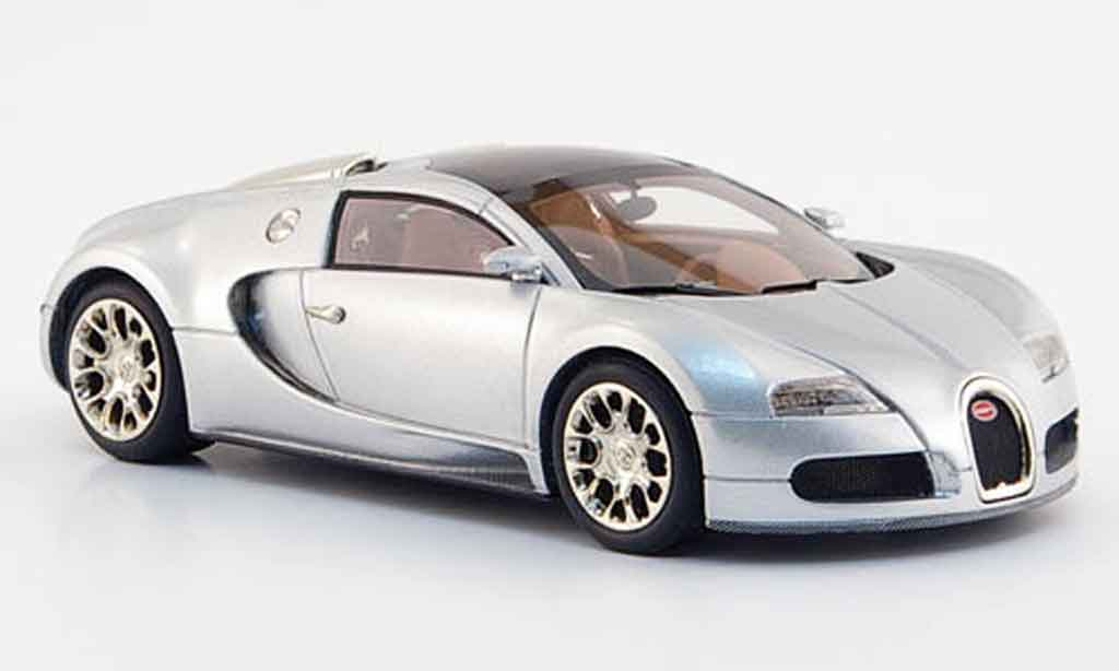 Bugatti Veyron 16.4 1/43 Look Smart gray metallisee 2008 diecast