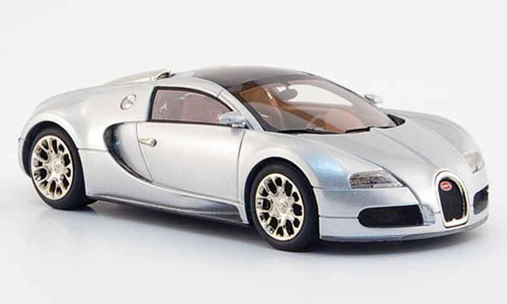 Bugatti Veyron 16.4 1/43 Look Smart grise metallisee 2008 miniature