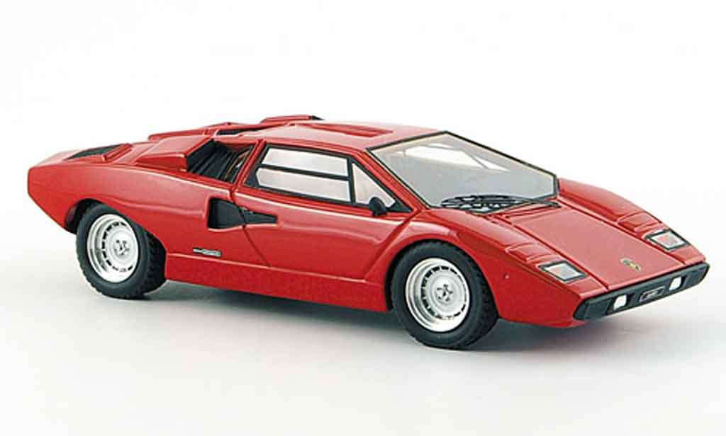 Lamborghini Countach LP 400 1/43 Look Smart rouge 1978 miniature