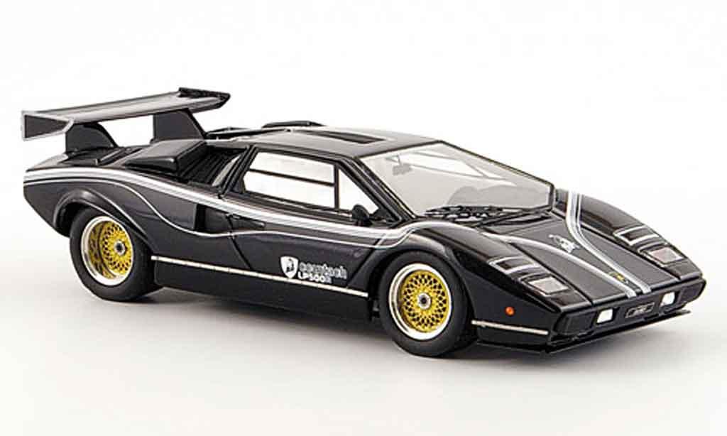 Lamborghini Countach LP 500 1/43 Look Smart r noire miniature