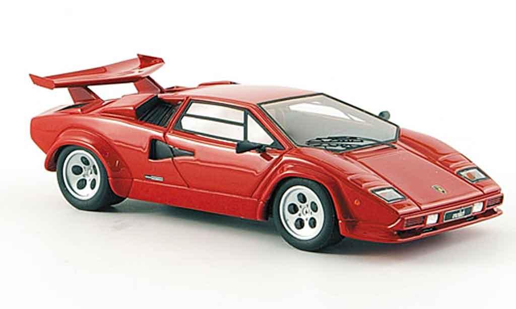 Lamborghini Countach LP 500 1/43 Look Smart s rouge 1982 miniature