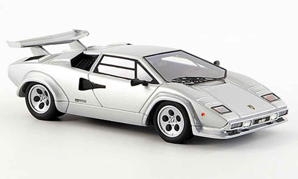 Lamborghini Countach LP 500 1/43 Look Smart s grise metallisee 1982 miniature