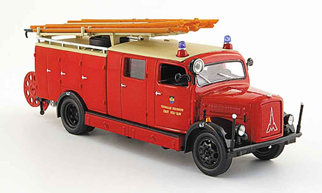 Magirus SLG 1/43 Yat Ming S 3000 Freiwillige pompier Stadt Neu Ulm 1941 miniature