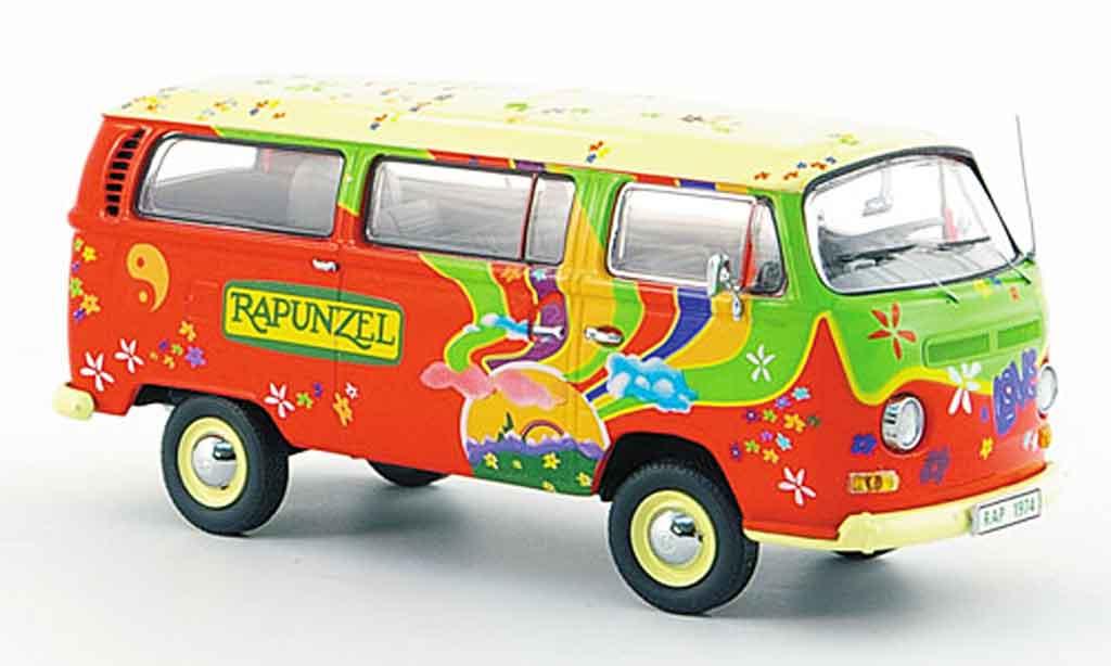 Volkswagen Combi 1/43 Schuco t2 a rapunzel fensterbus diecast