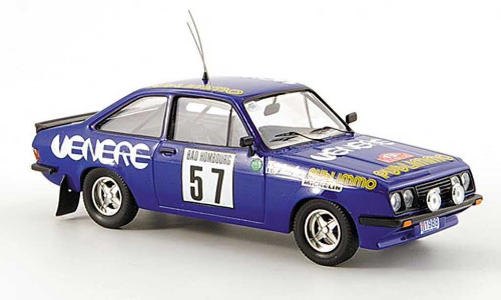 Ford Escort RS 2000 1/43 Trofeu No.57 Venere Rally Monte Carlo 1981 Y.Loubet/R.Alemany miniature