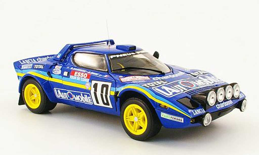 Lancia Stratos 1/18 Sun Star hf no.10 sieger tour de corse 1981 diecast model cars