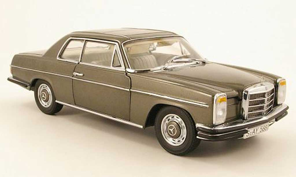 Mercedes Strich 1/18 Sun Star 8 280 coupe grise 1968 miniature