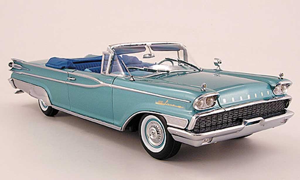Mercury Parklane 1/18 Sun Star Convertible turquoise 1959 diecast