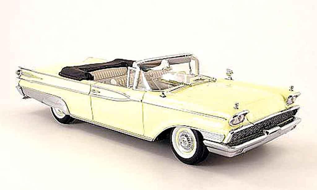 Mercury Parklane 1/18 Sun Star convertible yellow geoffnetes verdeck 1959 diecast