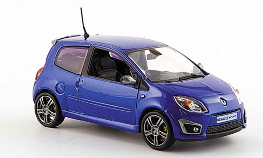 Renault Twingo 1/43 Norev rs bleu 2008 diecast