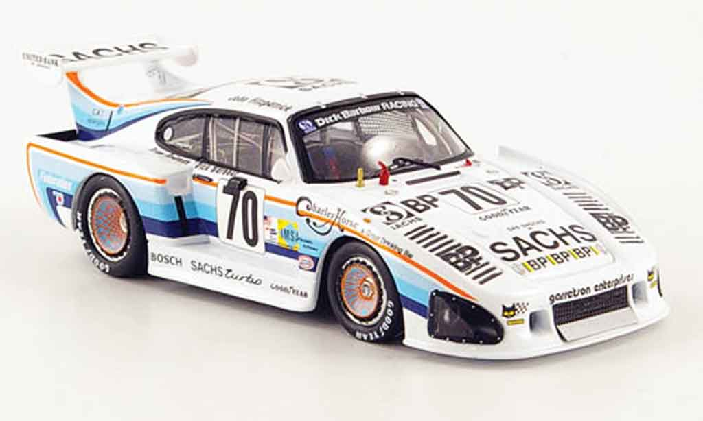 Porsche 935 1980 1/43 Fujimi K3 No.70 Sachs 24h Le Mans miniature