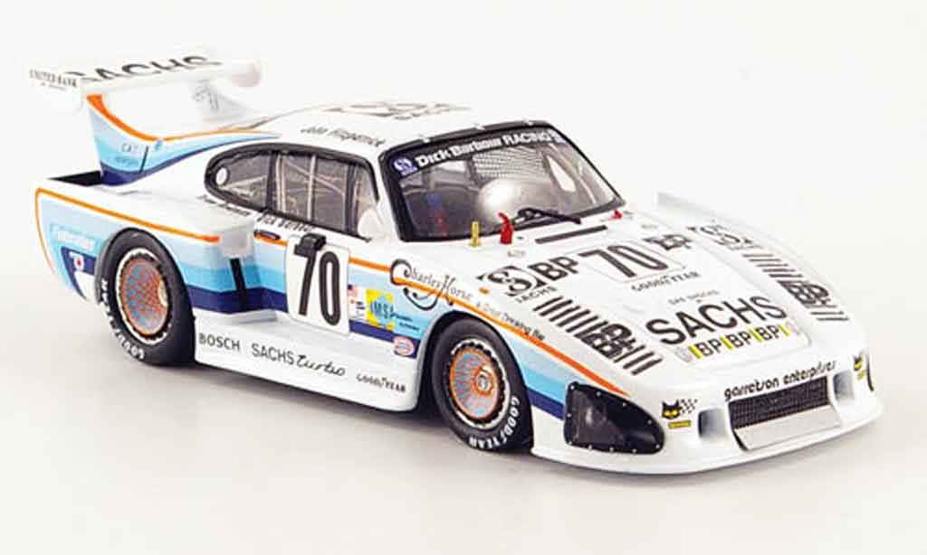 Porsche 935 1980 1/43 Fujimi K3 No.70 Sachs 24h Le Mans miniatura
