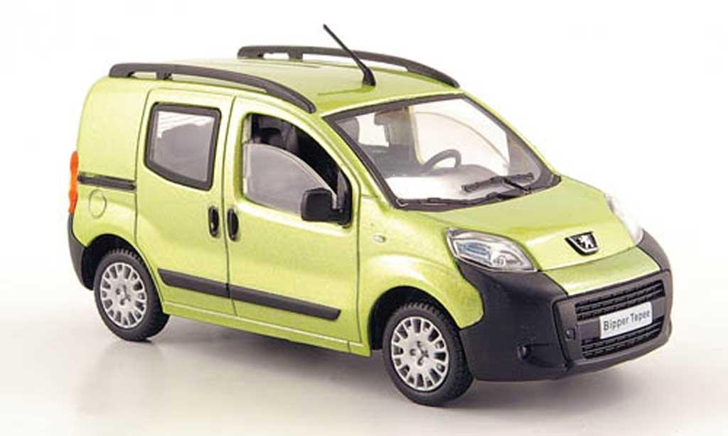Peugeot Bipper 1/43 Solido Tepee verte 2008 miniature