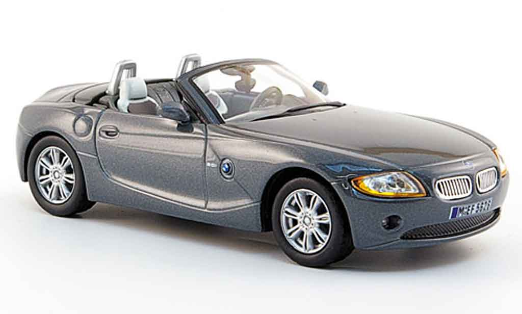Bmw Z4 E85 1/43 Solido gray 2003 diecast