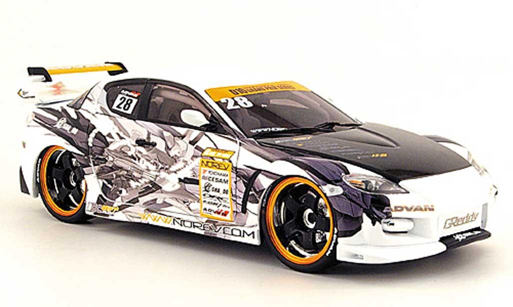 Mazda RX8 1/18 Norev racing diecast