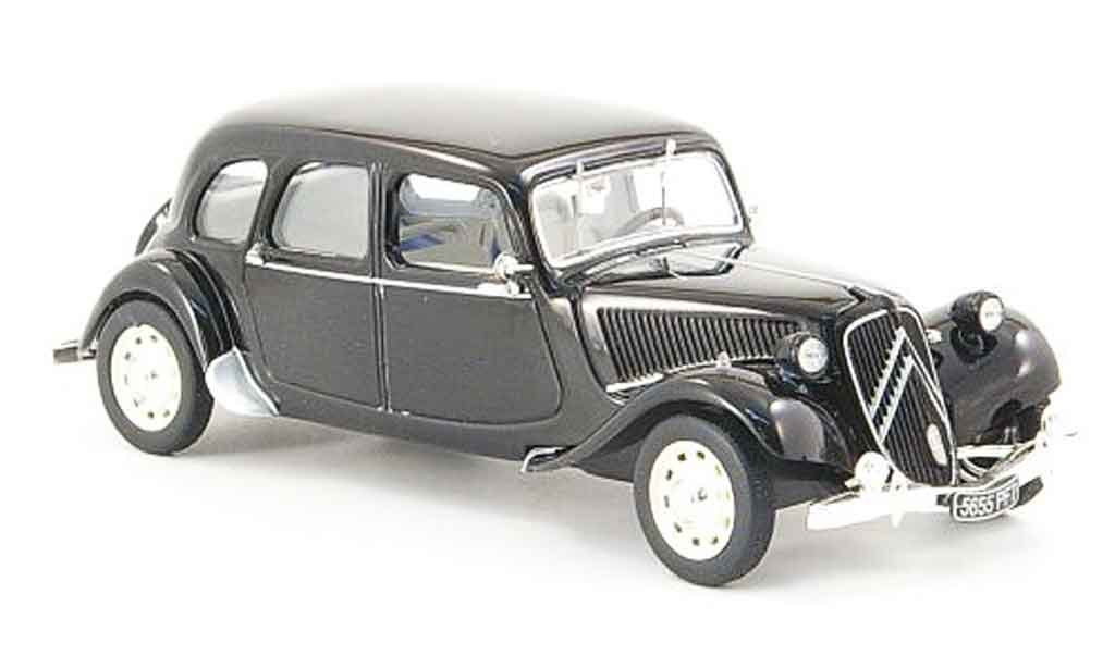 Citroen Traction 15 1/43 Norev 6 familiale 1938 miniature